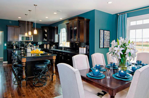 Stanley Martin Homes Kitchen and Dining Room